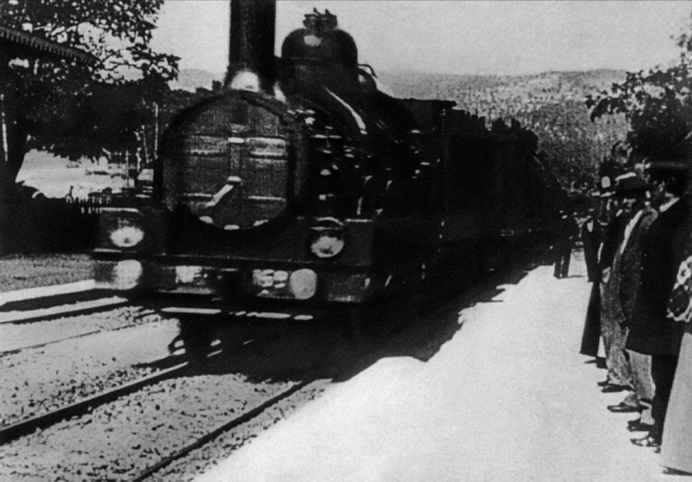 120 AÑOS DEL CINE II (1895, Llegada del tren a la estación de La Ciotat)