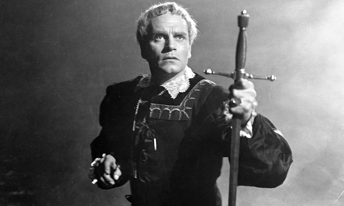 Laurence Olivier as Hamlet in the 1948 film